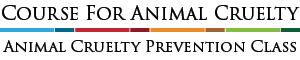 Course For Animal Cruelty Logo